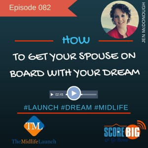 getting your spouse on board