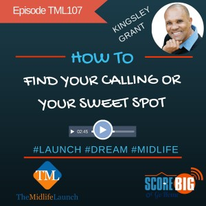 Find your calling or sweet spot