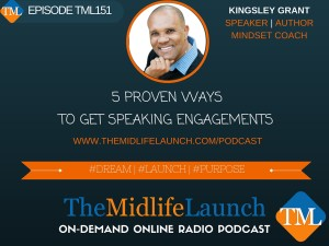 How to get speaking engagements with Kingsley Grant